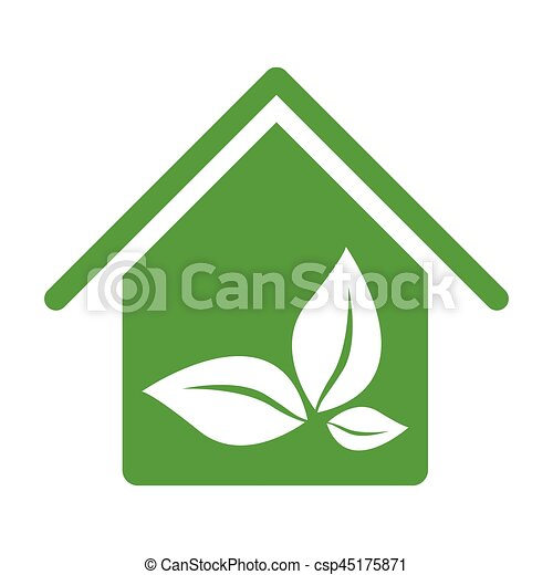 Admirable Green House With Leaves Inside Icon Download Free Architecture Designs Scobabritishbridgeorg