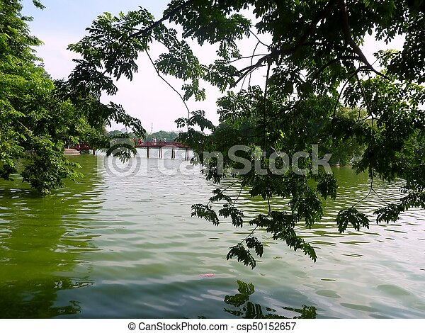 Green lagoon - csp50152657
