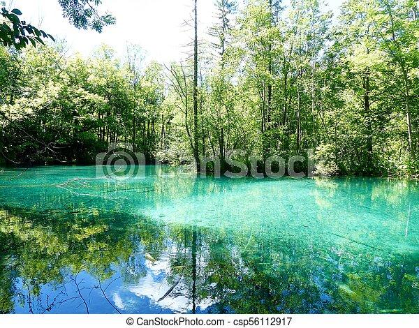 Green lake - csp56112917