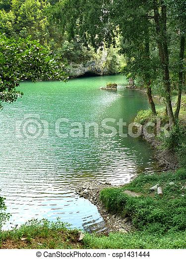 green lake - csp1431444