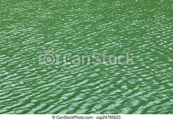 Green lake - csp24785623