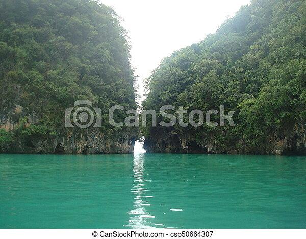 Green lake - csp50664307