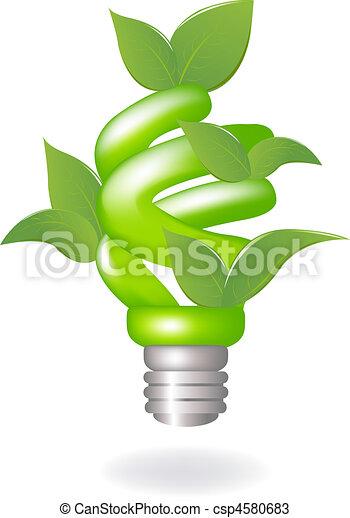 Green Lamp - csp4580683