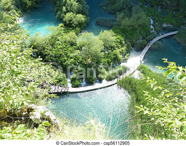Green landscape - csp56112905