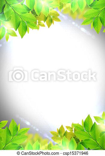 green leaf - csp15371946