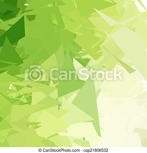 Green light abstract background - csp21806532