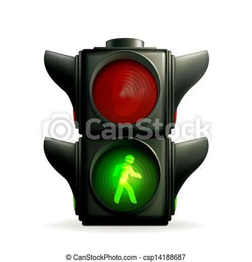 Green light - csp14188687