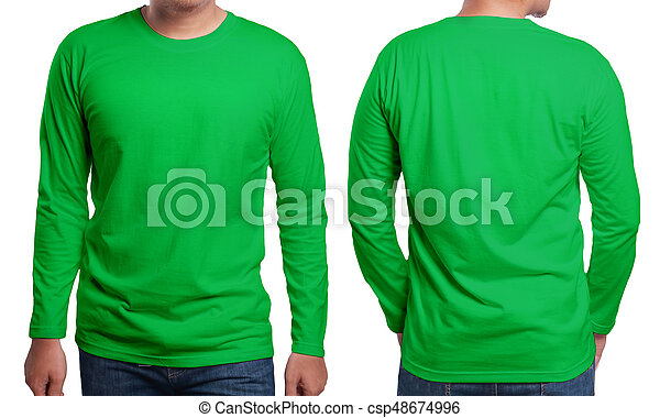 green long sleeved shirt design template green long sleeved t shirt