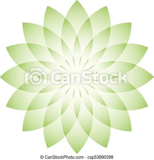 Green lotus flower symbol of yoga wellness beauty and spa vector illustration green lotus flower symbol of yoga wellness beauty and spa vector illustration mightylinksfo