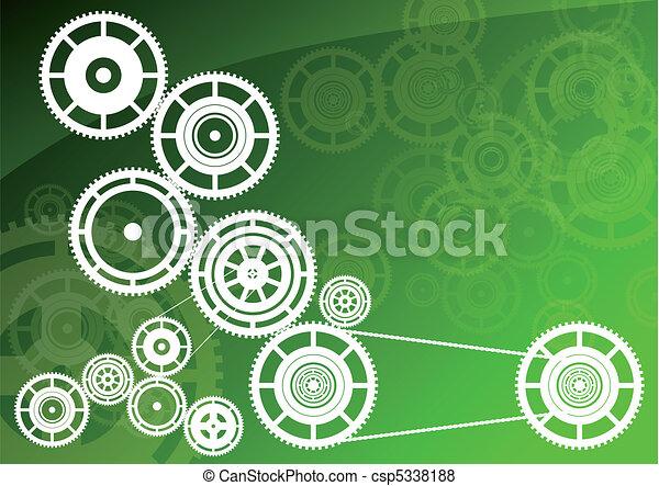 Green machinery - csp5338188
