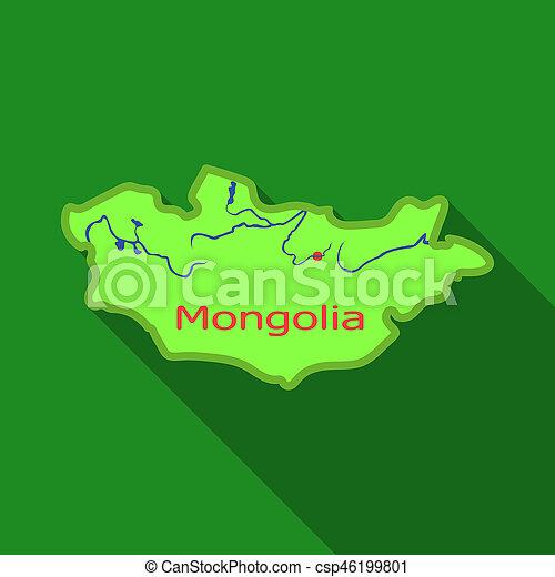 Green map of mongoliangolia on the world mapngolia stock green map of mongoliangolia on the world mapngolia single icon in flat style bitmap symbol gumiabroncs Choice Image