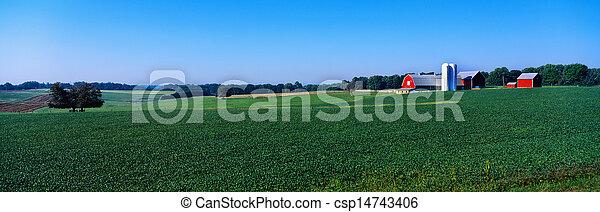 Green Maryland Farm - csp14743406