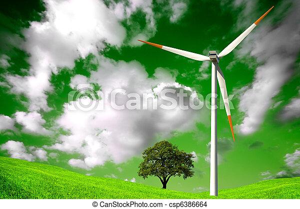 Green natural environment - csp6386664