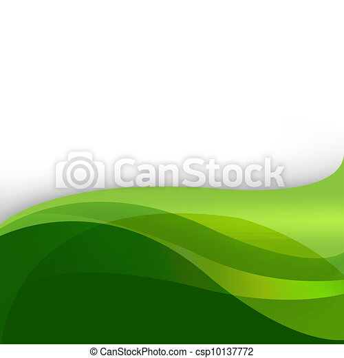 Green Nature Abstract Background - csp10137772