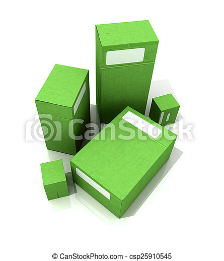 Green packages - csp25910545