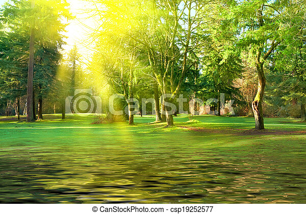Green park - csp19252577
