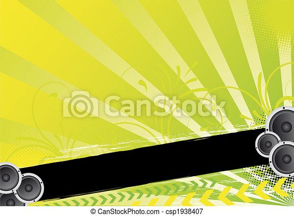 green party design - csp1938407