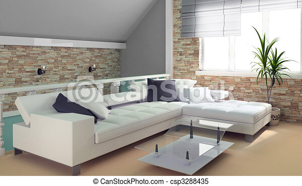 Green Penthouse   Csp3288435