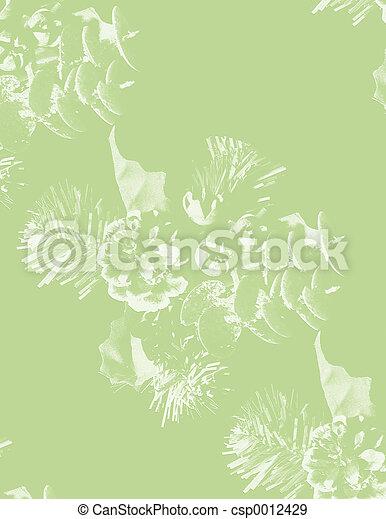green pine emboss - csp0012429