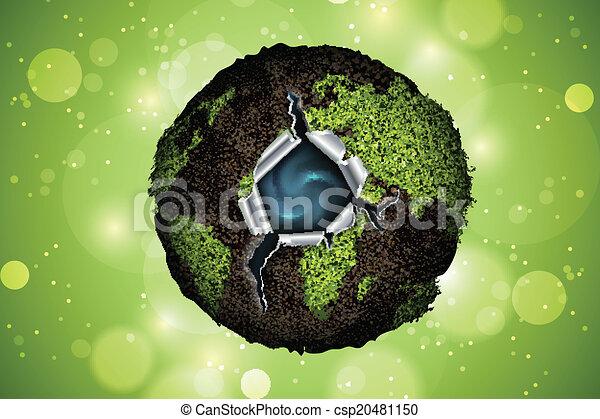 Green planet  - csp20481150
