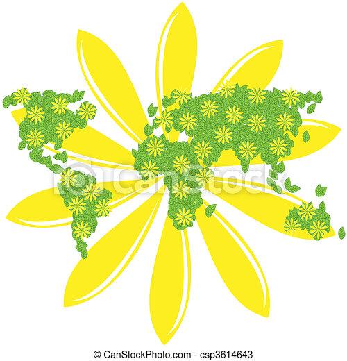 Green Planet - csp3614643
