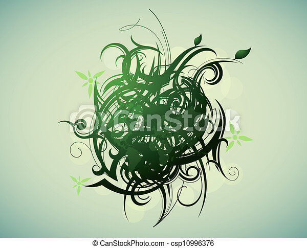 Green planet - csp10996376