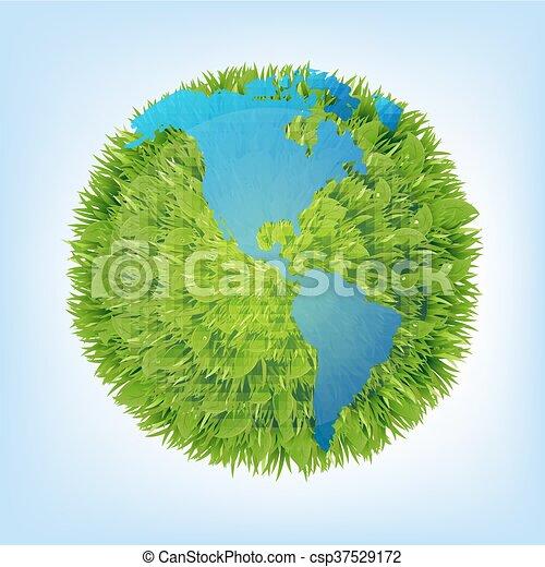 Green Planet - csp37529172