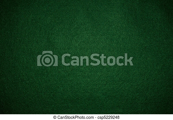 Green poker background - csp5229248