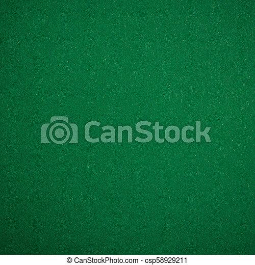 Green Poker table - csp58929211