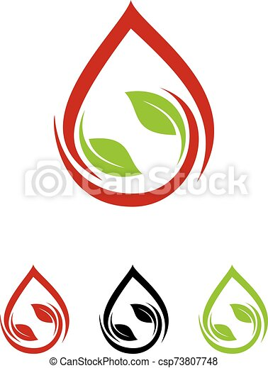 Green Power Energy Logo Design Element - csp73807748