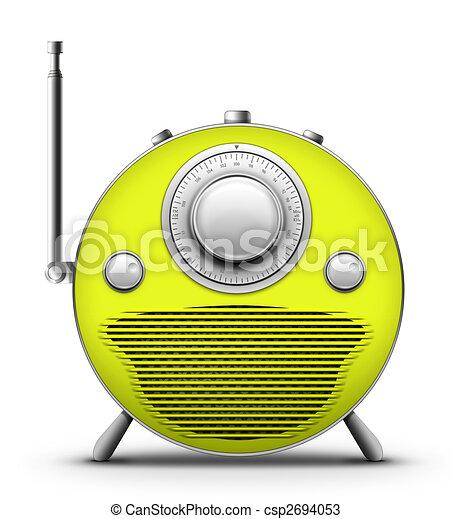 Green Radio - csp2694053