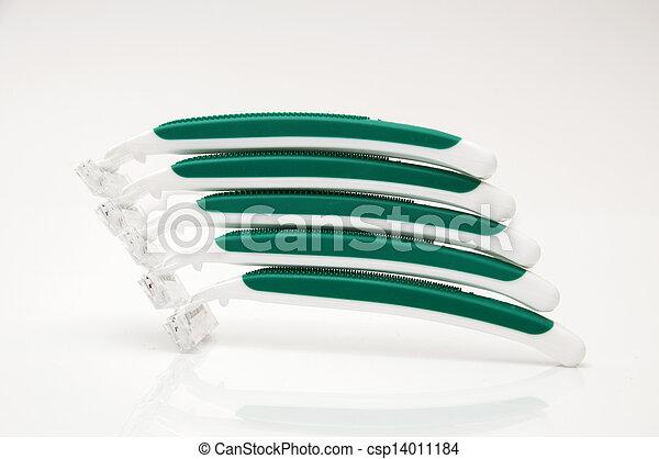 green razors - csp14011184