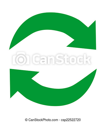 green recycle icon vector illustration search clipart drawings rh canstockphoto com recycle icon vector download recycle icon vector download
