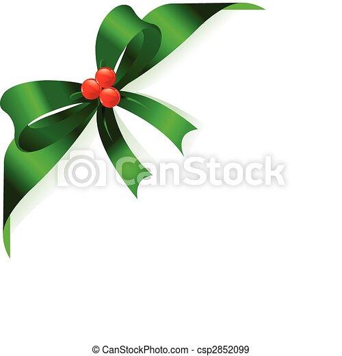Green ribbon - csp2852099