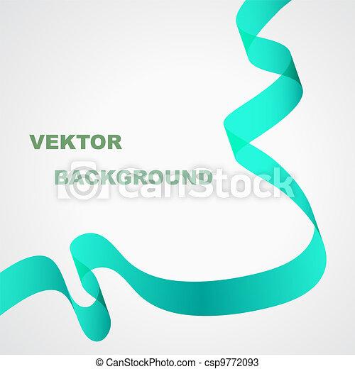 Green ribbon - csp9772093
