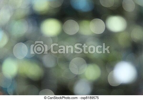 Green Sequin Blur - csp8189575