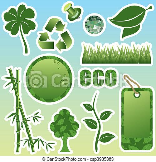 Green set - csp3935383