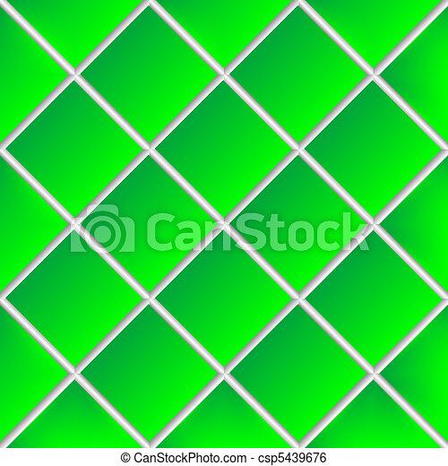 green shadowed ceramic tiles - csp5439676