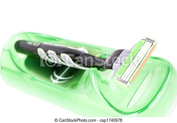 Green shaver - csp1740978