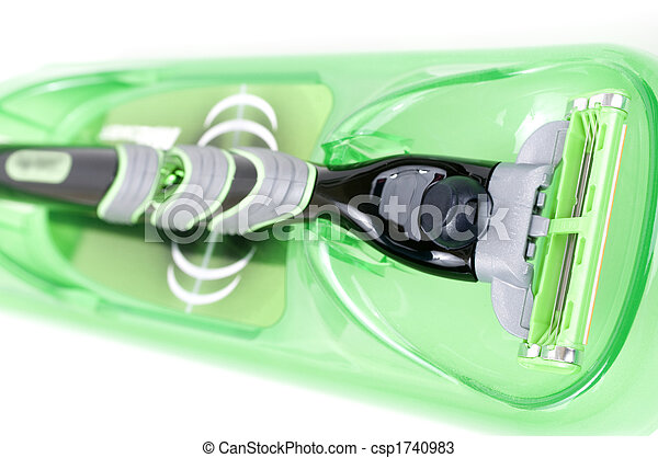Green shaver - csp1740983