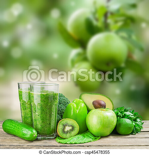 Green Smoothie for Healthy Life - csp45478355