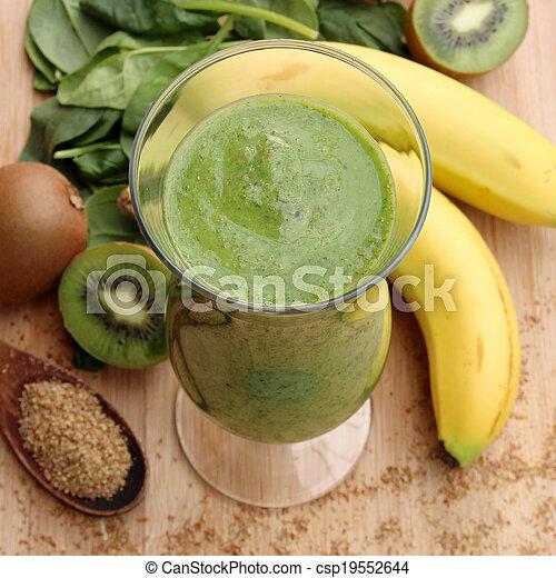 Green smoothie - csp19552644