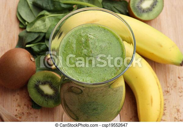 Green smoothie - csp19552647