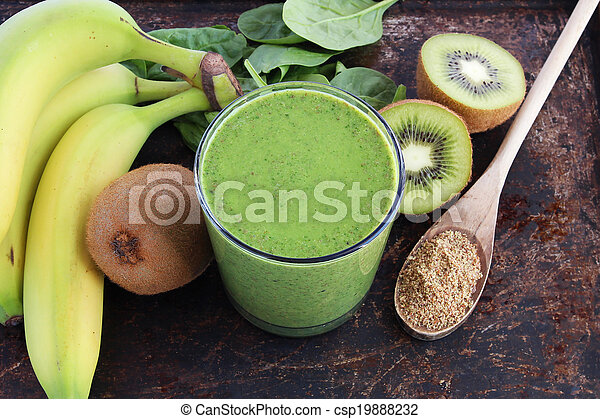 Green smoothie - csp19888232