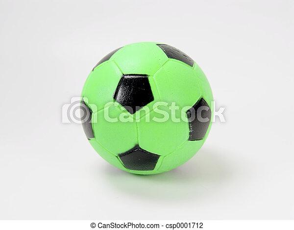 Green Soccer Ball - csp0001712
