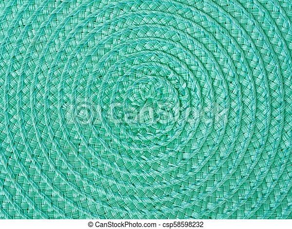 Green spiral background - csp58598232