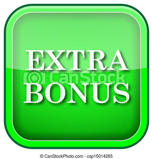 Green square shiny icon - csp15014265