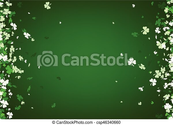 Green St. Patrick's day background. - csp46340660