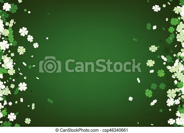 Green St. Patrick's day background. - csp46340661