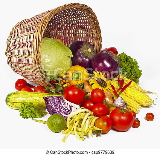 Green-stuff. Fresh vegetables - csp9779639